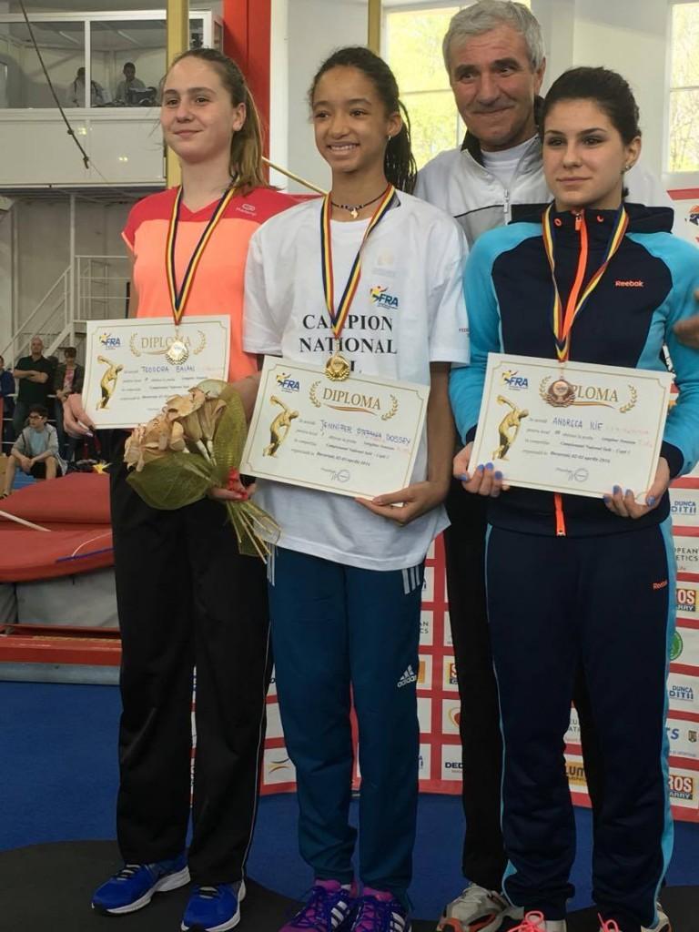 Jennifer Dossey, campioană națională indoor