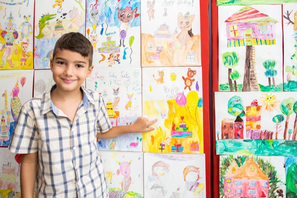 Expoziție Laborator Vocațional - Cursant Desen și Pictură
