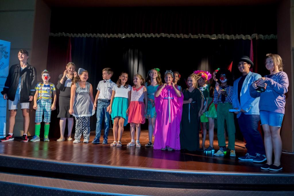 Piesa de teatru Inima Pădurii, Spectacol Laborator Vocațional