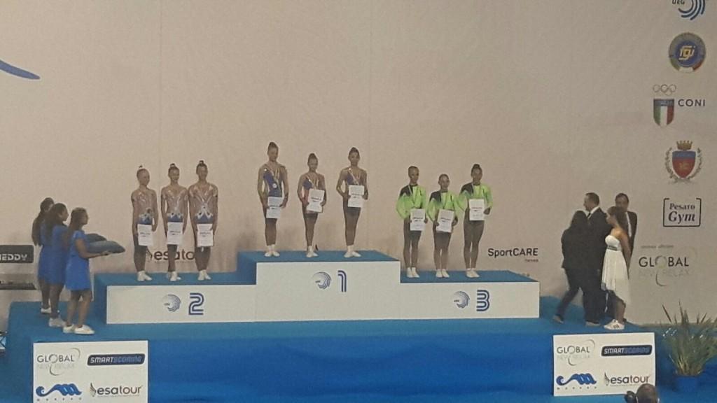 Echipa României, bronz la CE de Gimnastică Aerobică