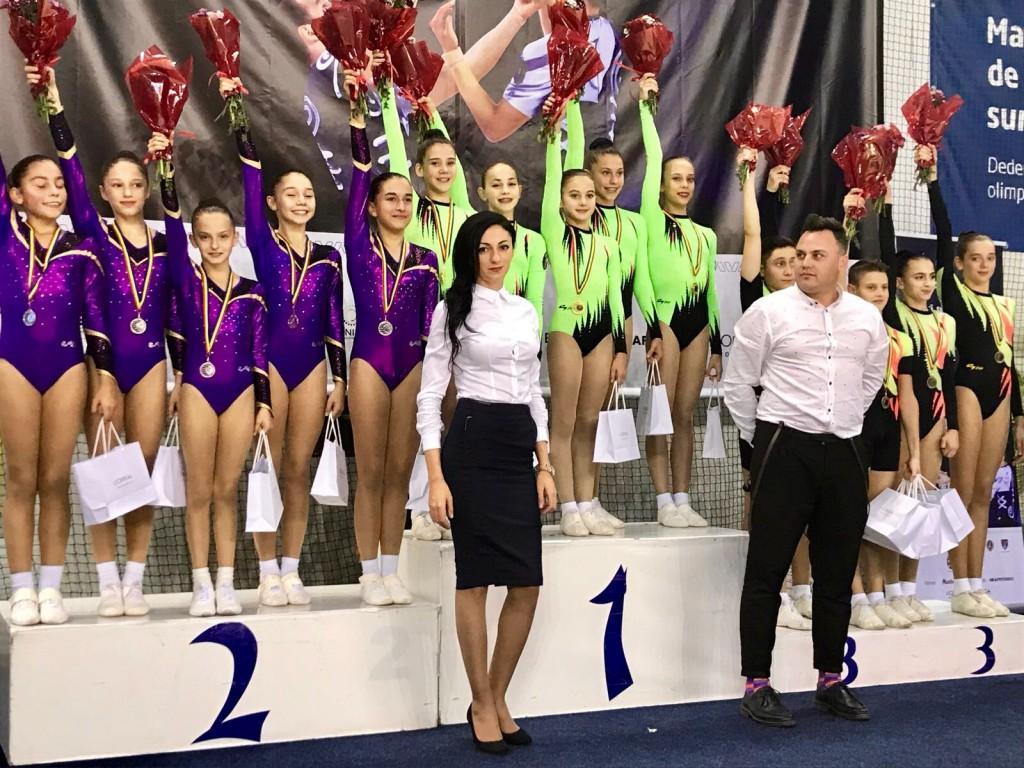 Aur pentru Miruna Iordache la proba de grup
